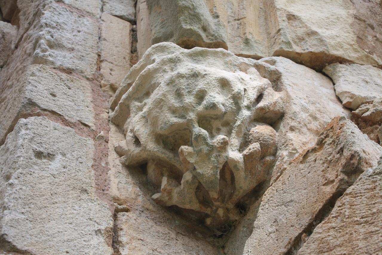 Cul de lampe représentant des feuillages XIII°S