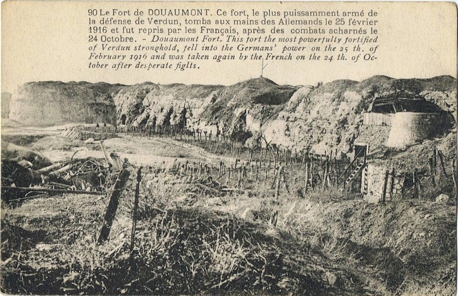 Albert MARCOU MPLF le 24 mai 1916 à Douaumont