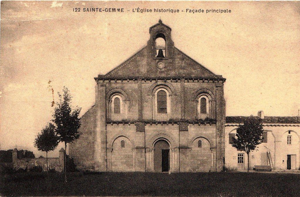 L'église vers 1930
