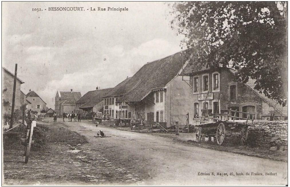 Gaston LAVAIX MPLF le 13 juillet 1917 à Bessoncourt (90)