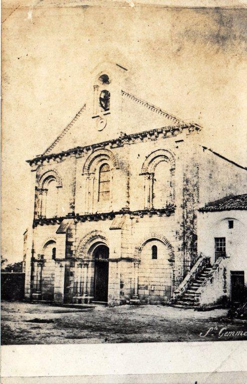 L'église vers 1880