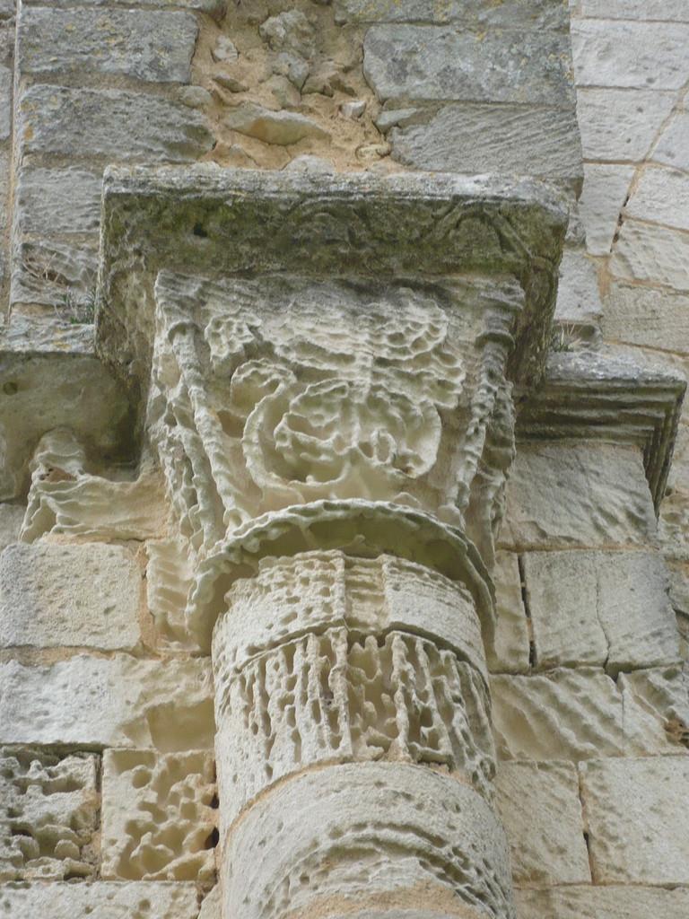 chapiteau de la croisée XII°S