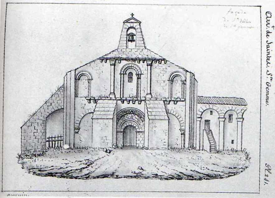 Dessin Auguin 1840