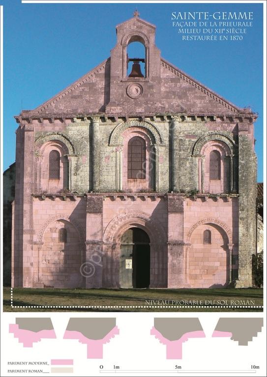 Eglise, façade Ouest