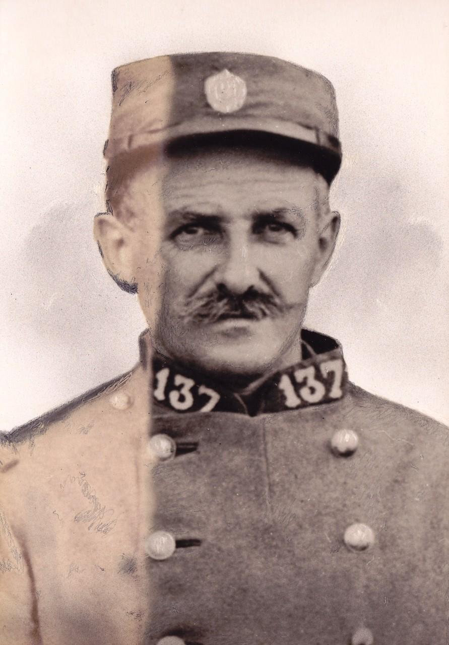 Alexandre RAVET MPLF le 13 octobre 1918
