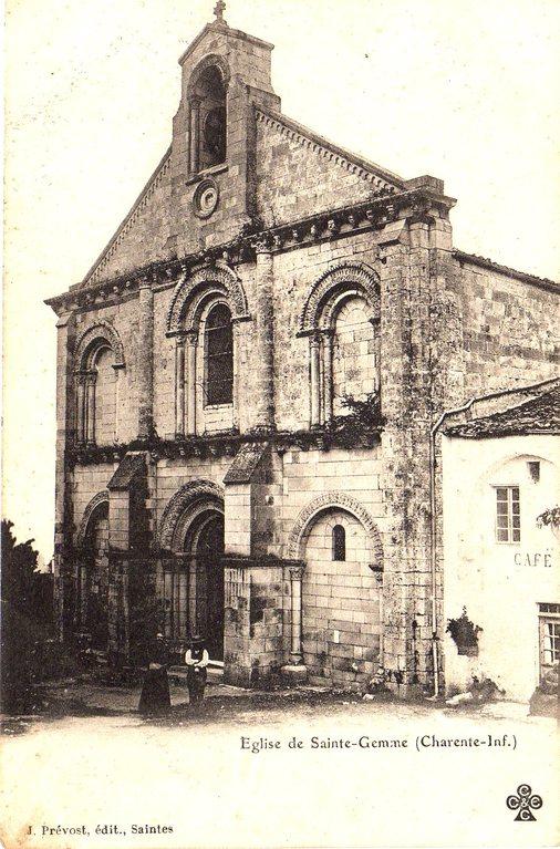L'église vers 1900