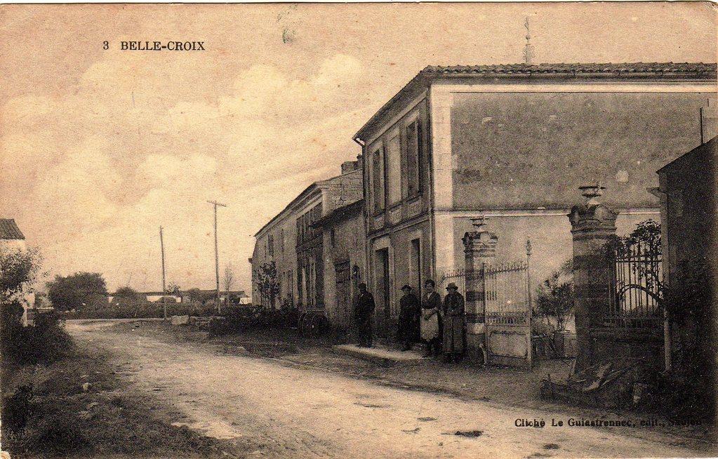 Le « village » La Belle Croix, vers 1917