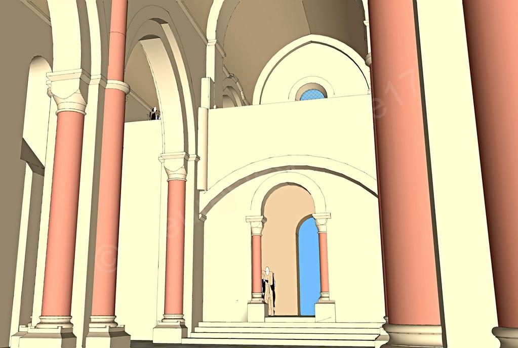 ntérieur de l'église, la tribune