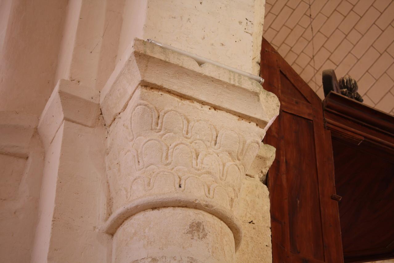 Chapiteau de la nef XII°S