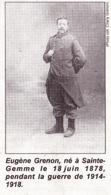 Eugène GRENON a survécu au conflit