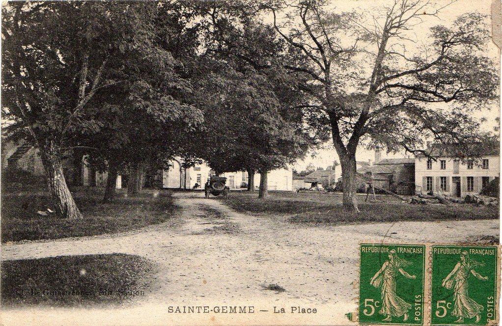La place vers 1918