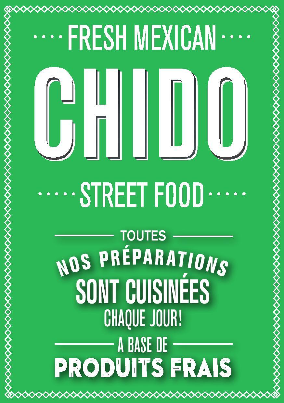Visuel carte de visite Chido