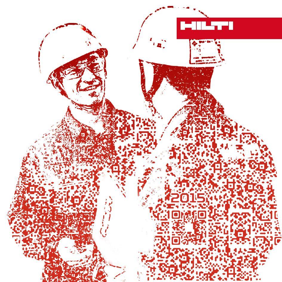 DA pour la carte de voeux Hilti 2015