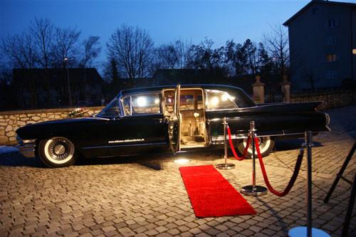 Cadillac Fleetwood 75 Jahrgang 1962 Schwarz 8 Personen hubers-oldtimerfahrten.jimdo.com