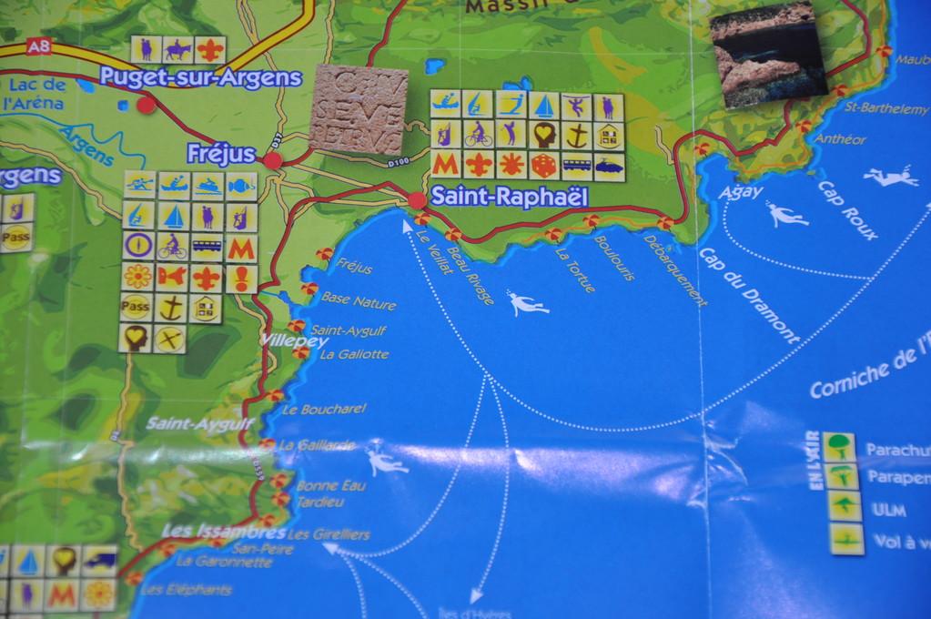 Fréjus et le Roc d'Azur
