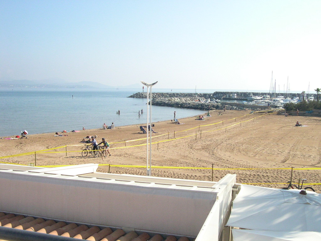 Saint AYGULF et la plage de la GALIOTTE