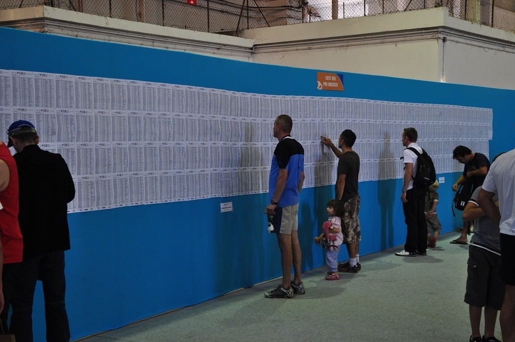 La liste des 18000 inscrits...
