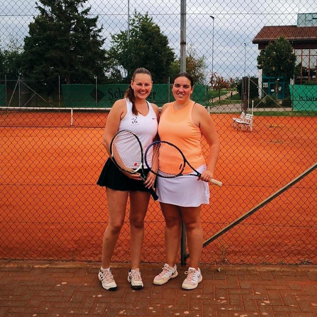 Damen Doppel 2020: 1. J. Samochwalow/K. Alber / 2. J. Lutz/K. Ohngemach