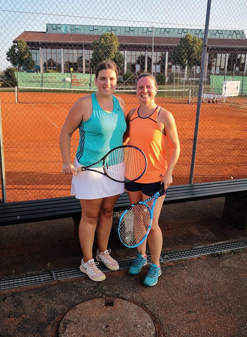 Damen Einzel 2020: 1. Katrin Alber / 2. Alina Fischer