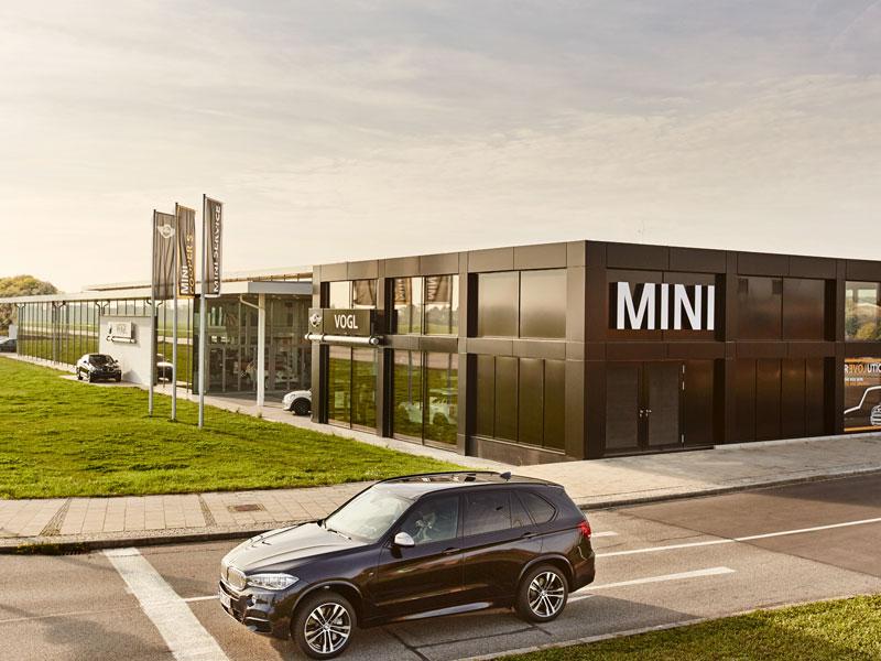 BMW MINI Gebäude Mühldorf