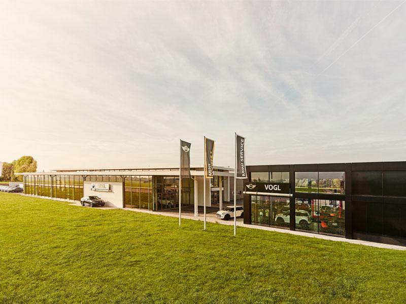 BMW VOGL Gebäude Mühldorf