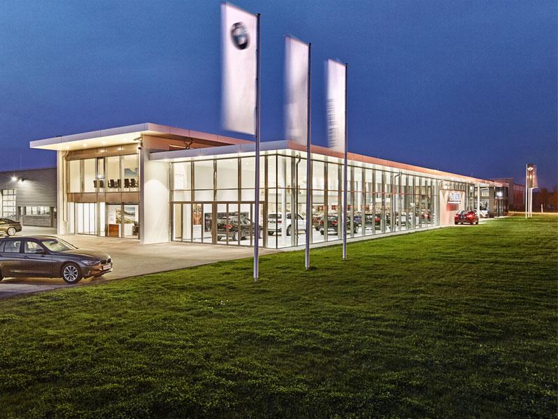 BMW VOGL Gebäude Aussenansicht