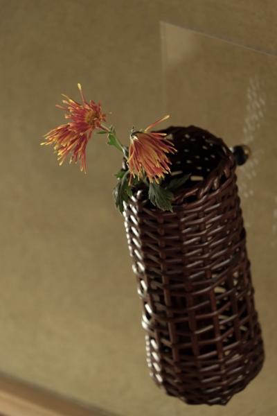 講座名は『四季につかえる掛け花籠』です