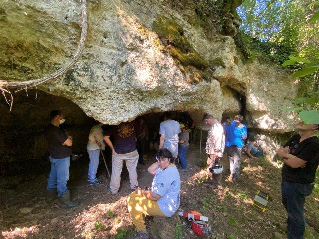 Congrès SFES 2021 - Chapelle troglodytique dans le sud du Lot-et-Garonne - Photo L. Stevens (c)