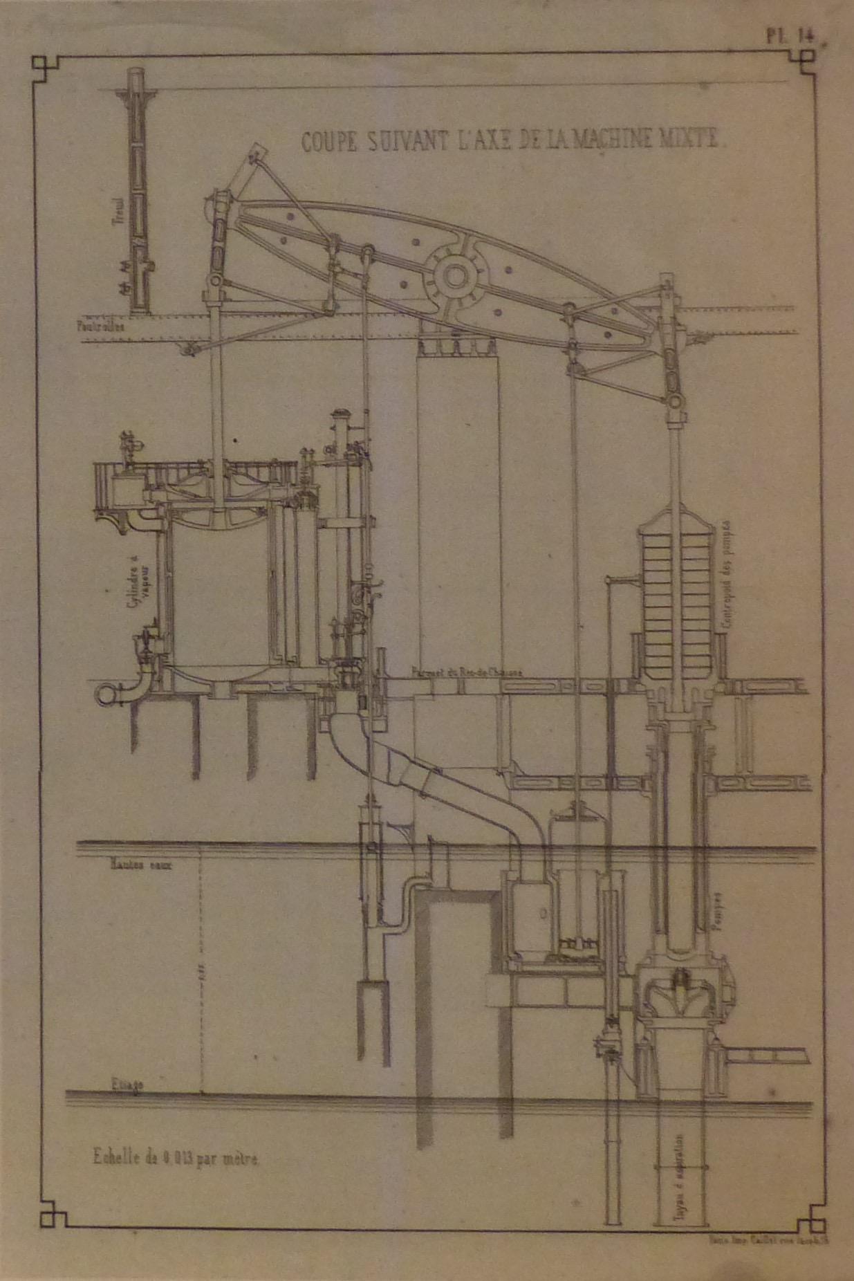 Bassins filtrants et usine des eaux de Saint Clair (Photo J.-F. Godet)