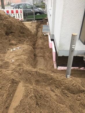 Abdichten und Dämmung Kellerwände