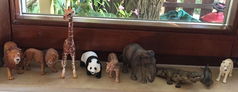 Spielzimmer der Kinder im Haus der Tagesmutter