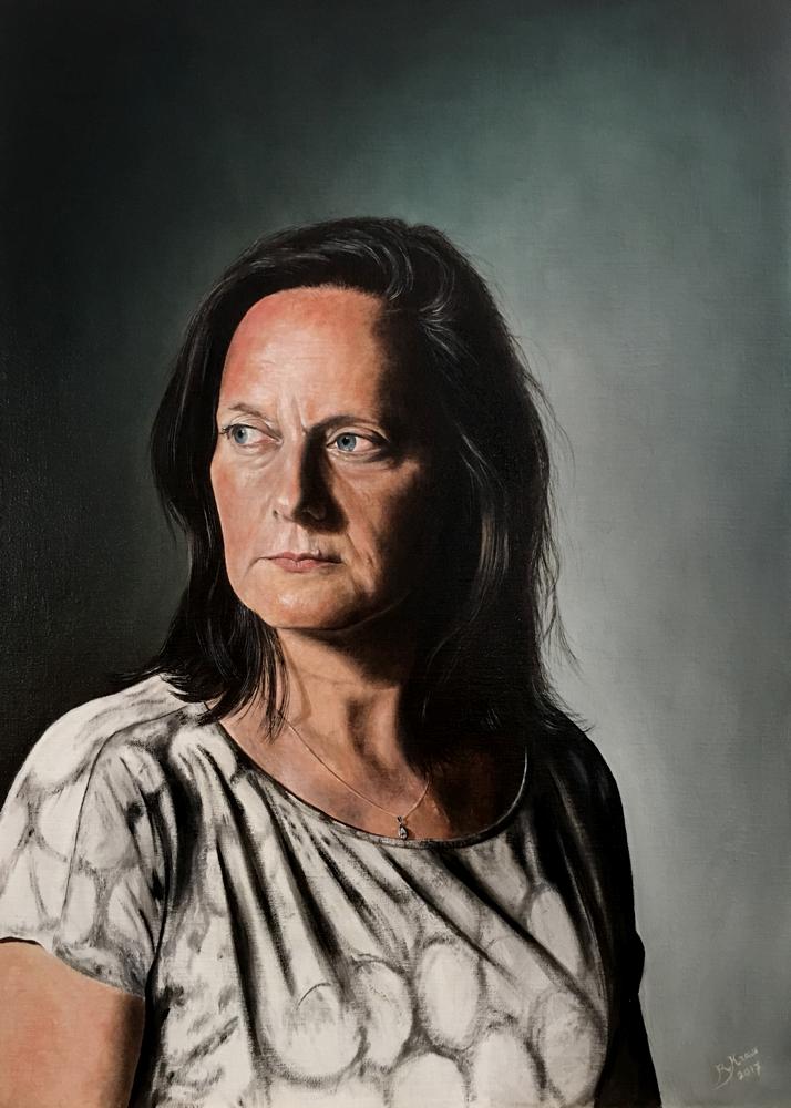 Sylvia 09-2017 -  50 x 70 cm (olieverf op linnen)