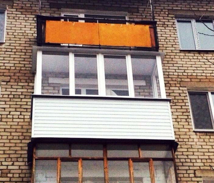 Остекление балкона окнами пермь остекление деревянные балконов