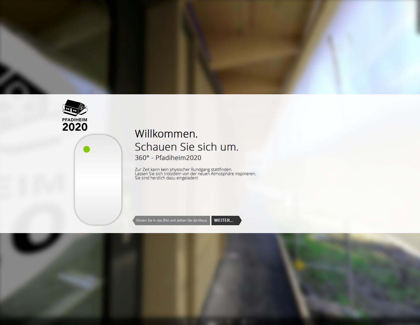 Virtueller Rundgang & Projekt-Shop - jetzt online!