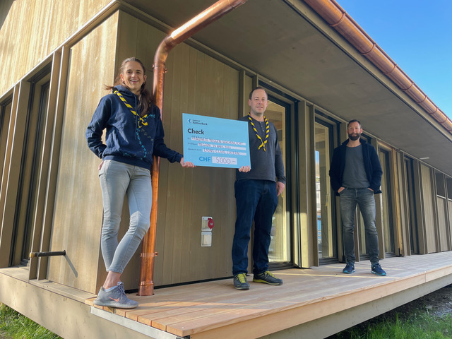 Lions Club Luzern unterstützt unsere Sanierung