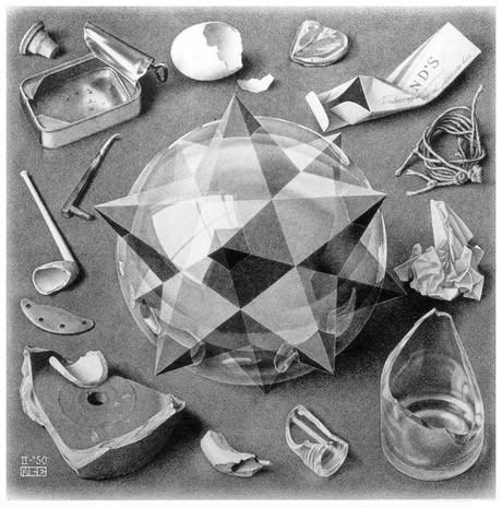 Мориц Эшер: «Порядок и хаос»