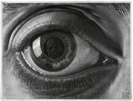 Мориц Эшер: «Глаз»