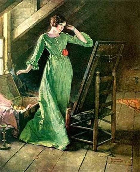 "Norman Percevel Rockwell, ""Treasures"""