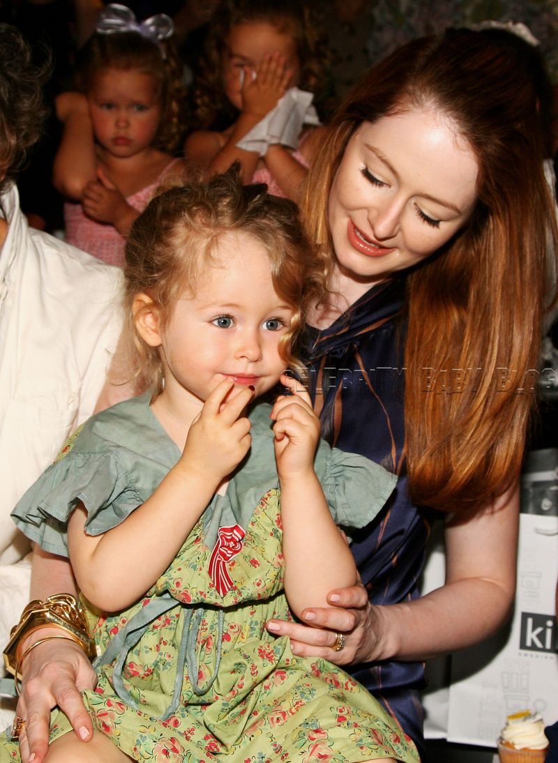 Peter`s wife Miranda and his daughter Darcey -     Photo by Kristian Dowling,Getty Images