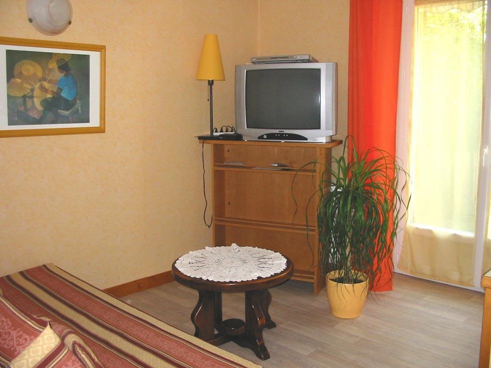 La Chambre d'Hôtes des Lisières : The lounge