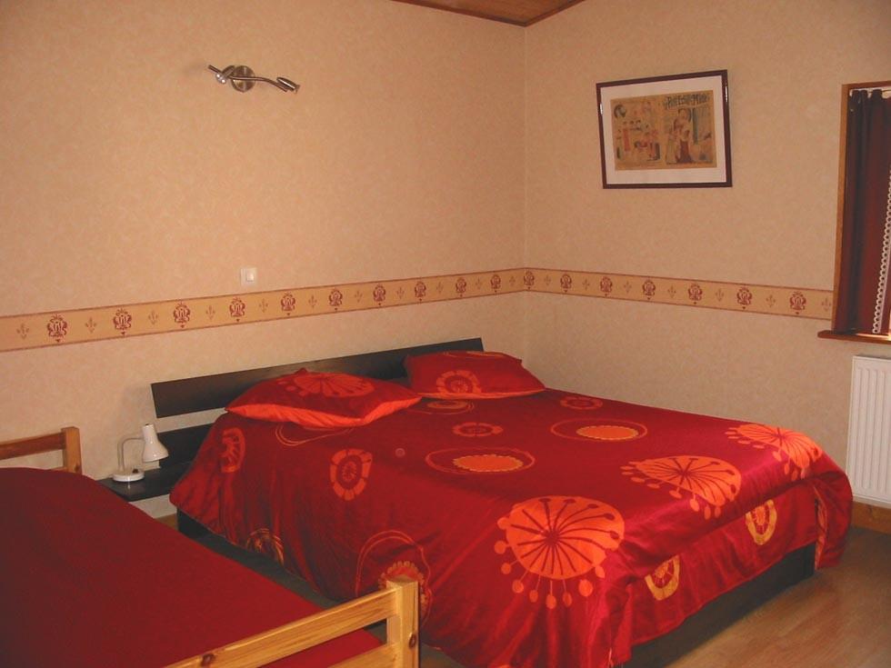 La Chambre d'Hôtes des Lisières : The bedroom