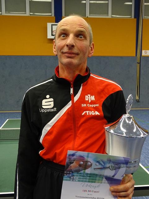 Vereinsmeister Herren-A-Einzel Alfred Strunz