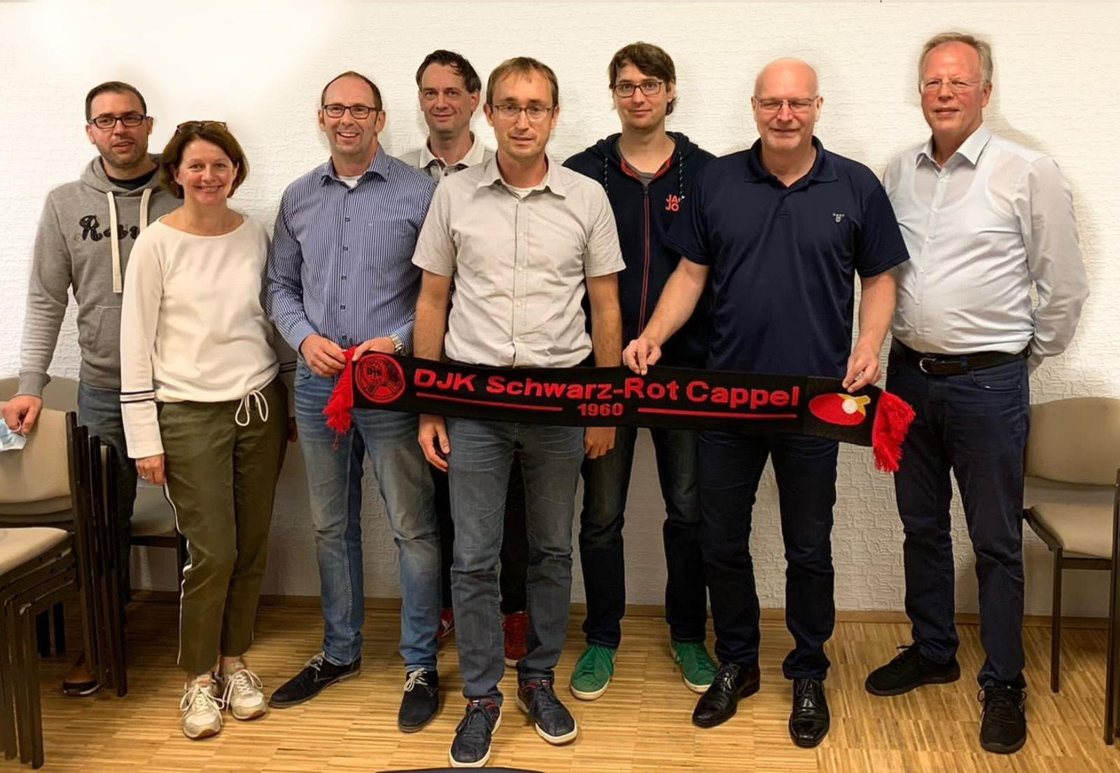 Lopez, Schultza, Kemper, Weddemann, neuer 1. Vorsitzender Marticke, Eisenbrecher, Cybaier, Damerow