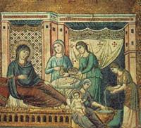 Nacimiento de la Virgen María.