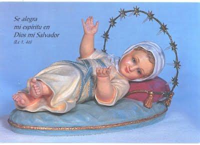 Infantem Mariae, Ora por nobis