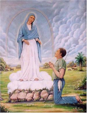 La Virgen de Cuapa y el Vidente Bernardo Martínez