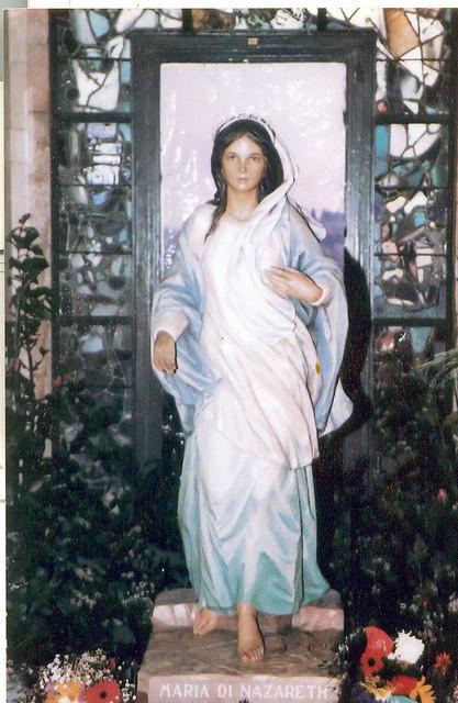 Imagen original de Ntra. Sra. Nazareth que se venera en la Basílica de la Anunciación de Tierra Santa