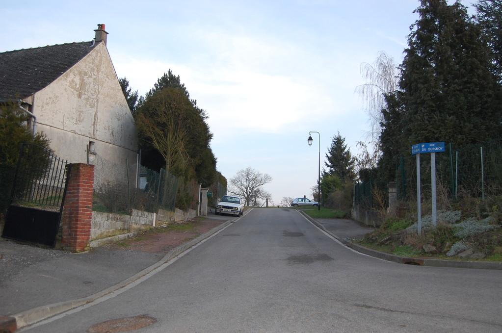 Rue de l'Abbaye.