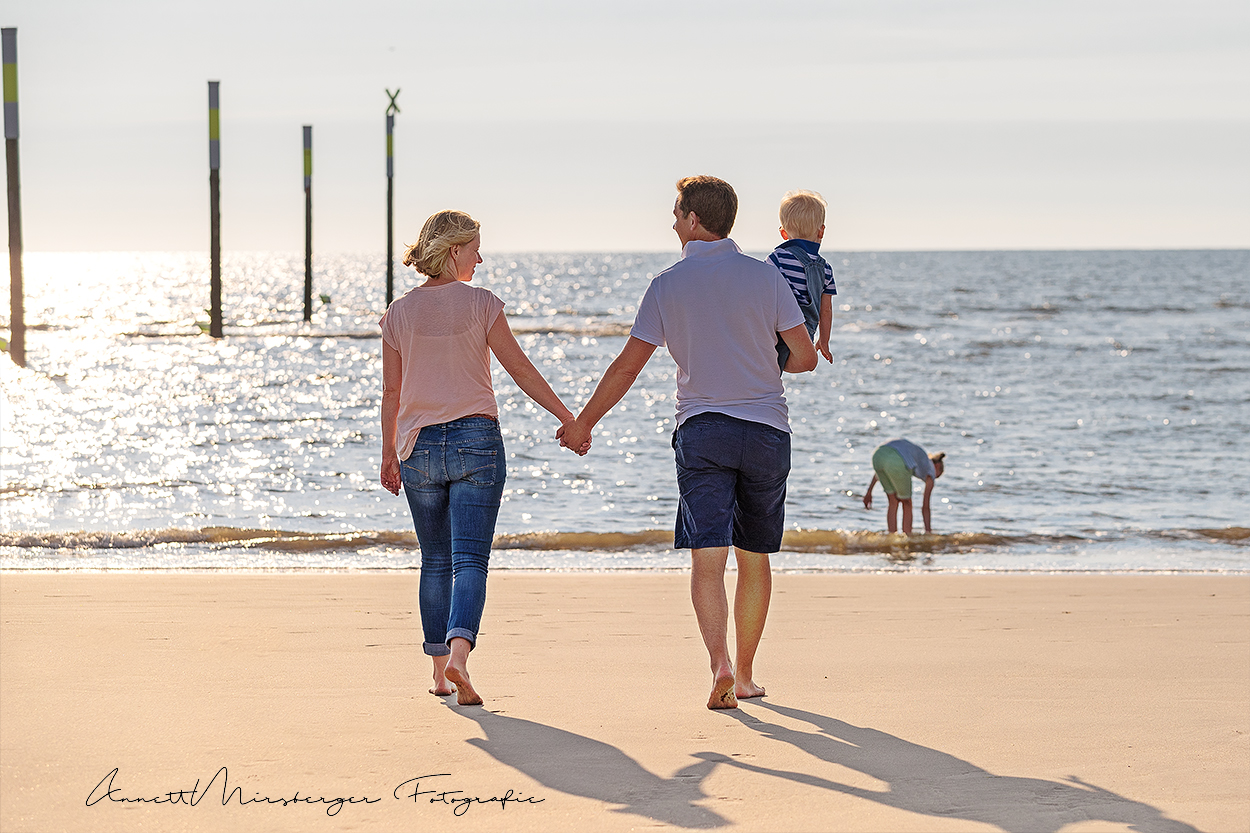 Familienshootings am Strand mit Annett Mirsberger Fotografie