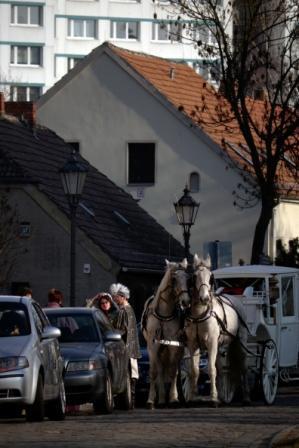 """Melitta Richter """"Hochzeitskutsche"""""""